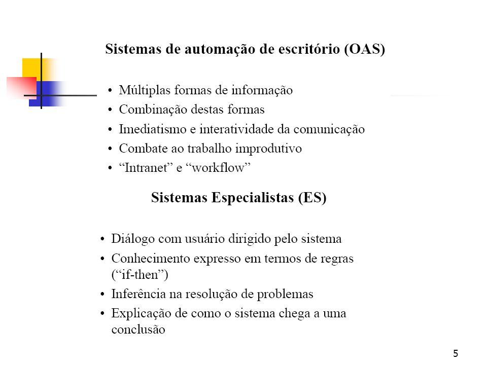 25 Qualidade da informação Requisitos de tempo Prontidão: fornecida quando necessária.