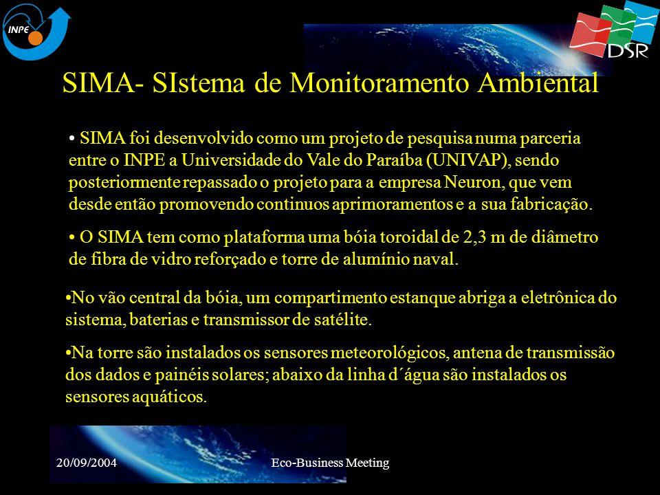 20/09/2004Eco-Business Meeting SIMA- INSTALAÇÃO NA BAÍA DE GUANABARA