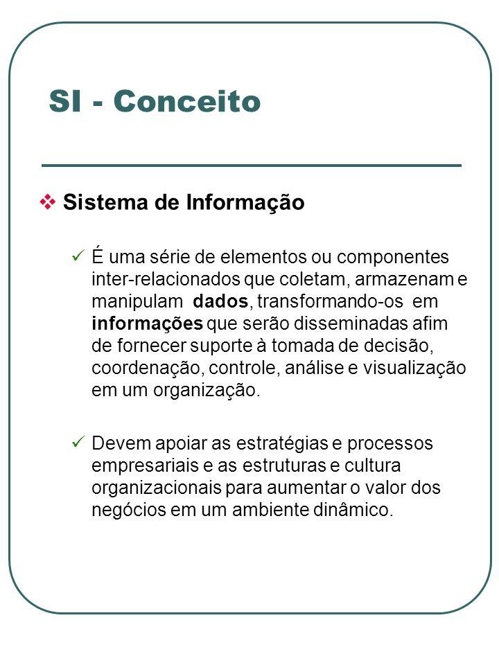 PROCESSAMENTO E BANCO DE DADOS CONTROLE PELA ADMINISTRAÇÃO ENTRADA DE DADOS SAÍDA DE INFORMAÇÕES FRONTEIRA DO SISTEMA Sinais de FeedBack Sinais de Controle