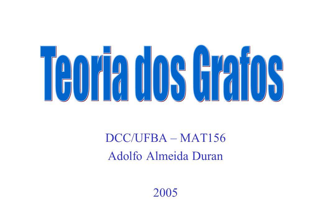 DCC/UFBA – MAT156 Adolfo Almeida Duran 2005