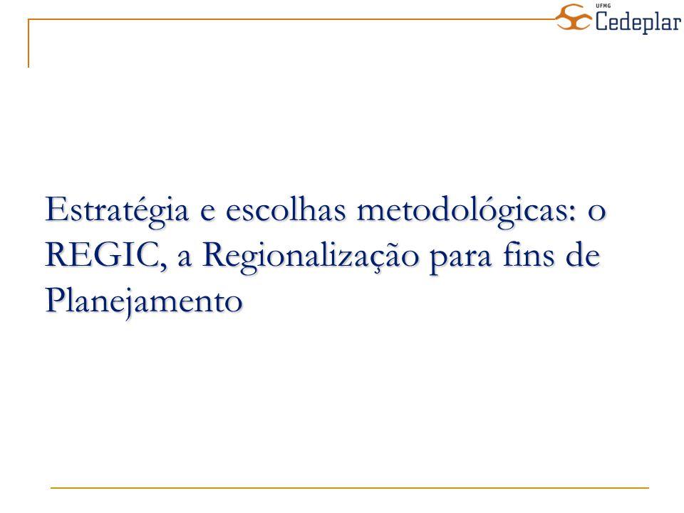 Variação de centralidade segundo a projeção populacional e os efeitos de tendência e do PAC sobre o PIB para 2020 em relação à centralidade calculada pelo Regic (a)