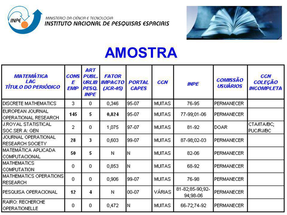 AMOSTRA
