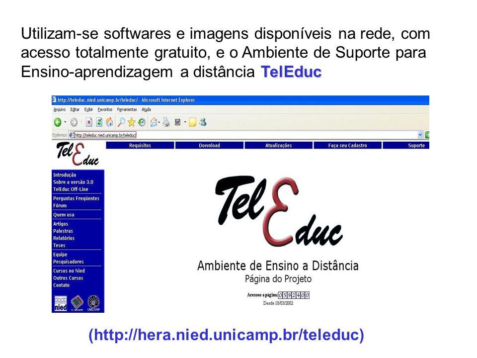 NOVAS TECNOLOGIAS NO ENSINO A DISTÂNCIA DE PROCESSAMENTO DE IMAGENS UTILIZANDO O SPRING E IMAGENS CBERS http://www.dpi.inpe.br/ead/intro_sr