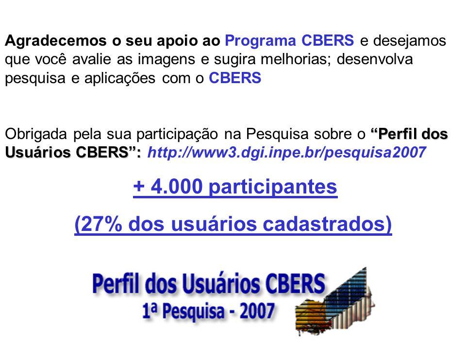 Solicitamos o favor de nos enviar (atus@dgi.inpe.br) cópias de apresentações, relatórios, trabalhos, links, descrições, relatos, etc., que mostrem o u