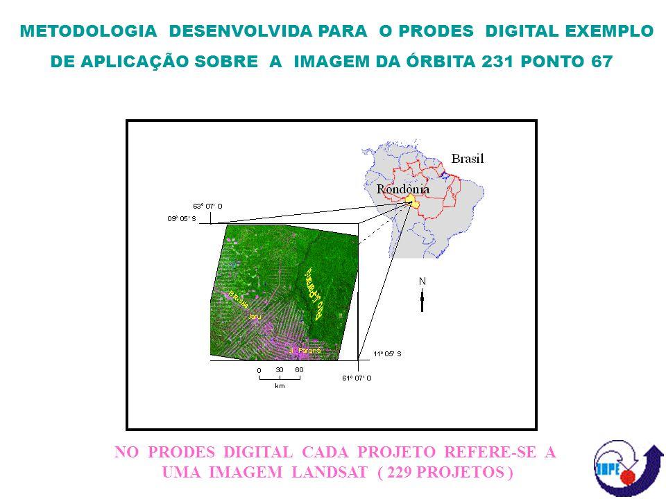 RESULTADOS E CONSIDERAÇÕES FINAIS A METODOLOGIA UTILIZADA VIABILIZOU A REALIZAÇÃO DO PRODES DIGITAL E PERMITIU A CRIAÇÃO DO BANCO DE DADOS DIGITAIS DA AMAZÔNIA