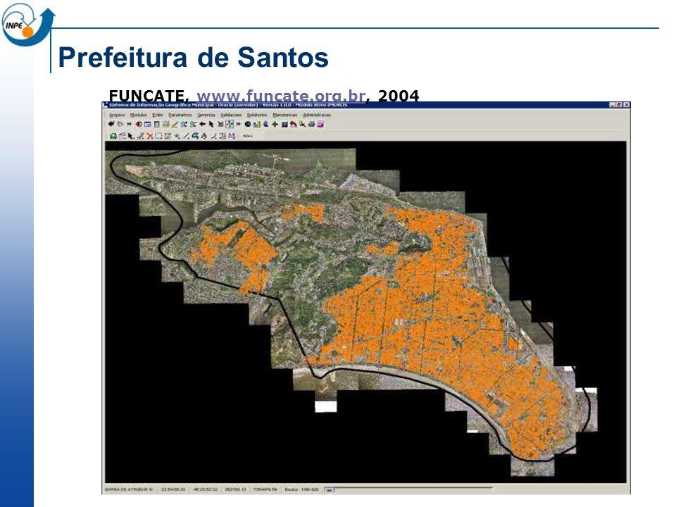 FUNCATE, www.funcate.org.br, 2004www.funcate.org.br Prefeitura de Santos