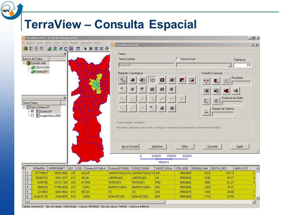 TerraView – Consulta Espacial