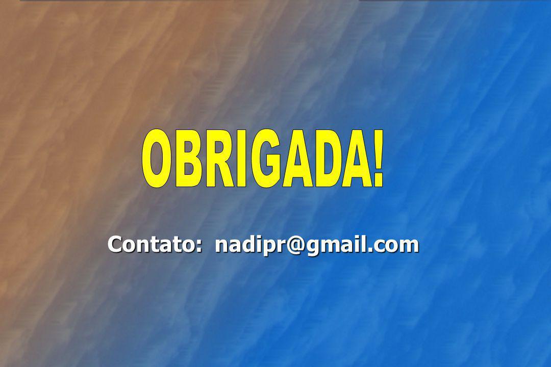 Contato: nadipr@gmail.com