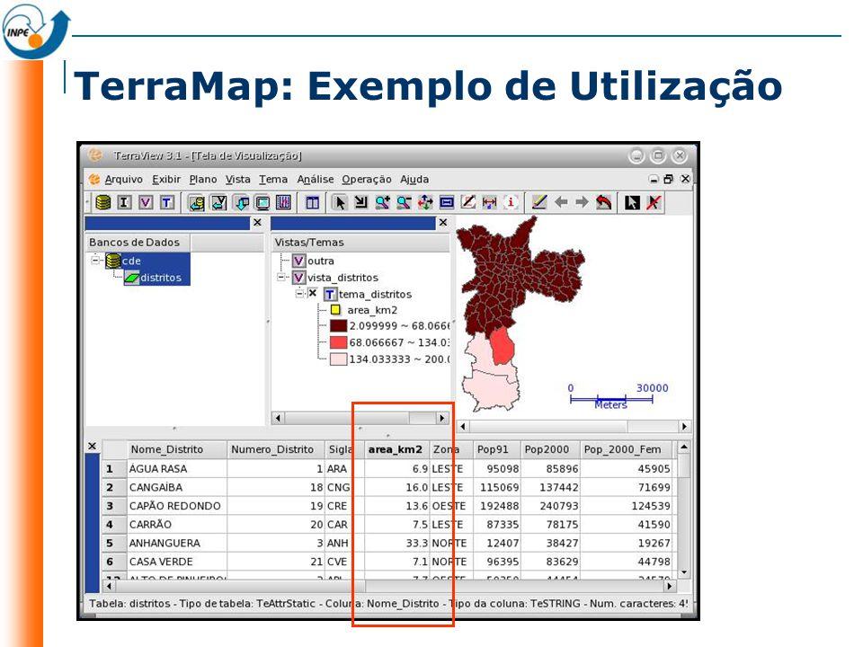 TerraMap: Exemplo de Utilização