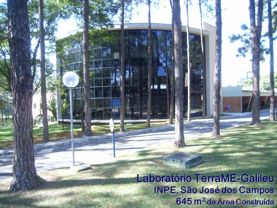 Laboratório TerraME-Galileu INPE, São José dos Campos 645 m 2 de Área Construída