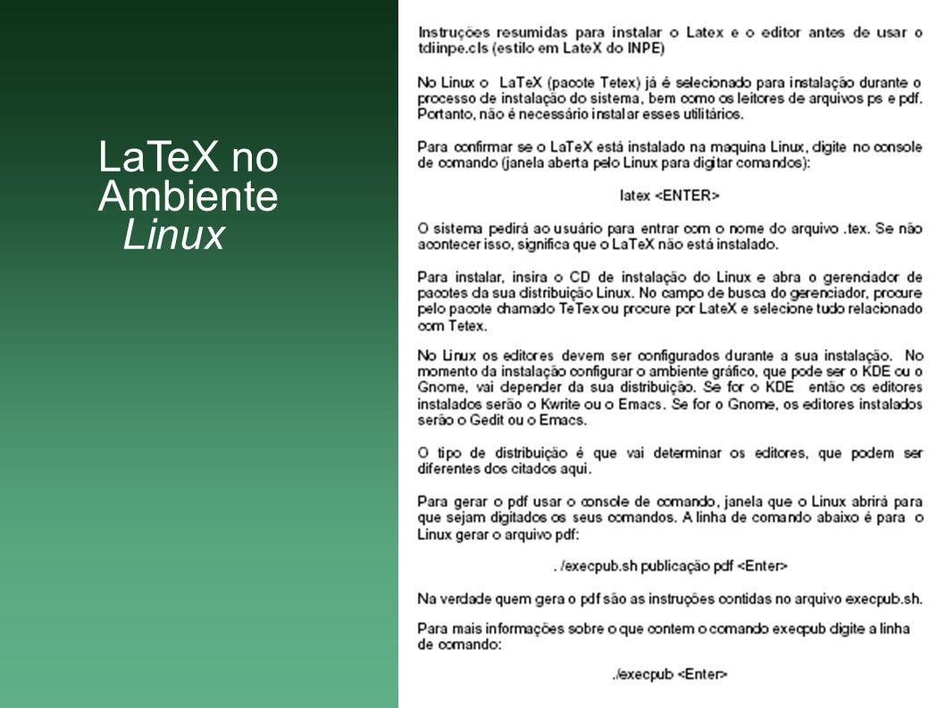 A apostila Ferramentas do BrOffice.org Writer de Apoio para Utilização do TDINPE.OTT contém informações sobre os comandos do BrOffice.org voltados para o estilo (TIERNO, 2007).