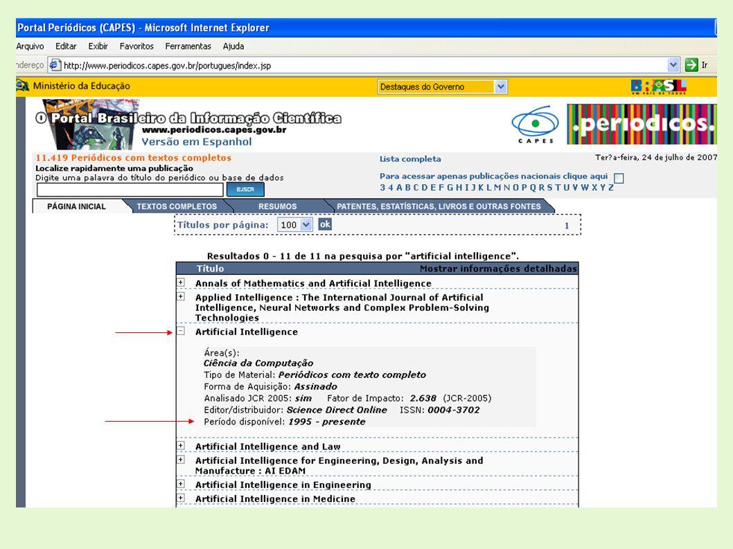 Biblioteca Digital Curso em Editoração Eletrônica por meio de Seminários O QUE É: Repositório institucional Reúne a produção intelectual do INPE, preservando a Memória Técnico-Científica do Instituto Utiliza o Software URLibService