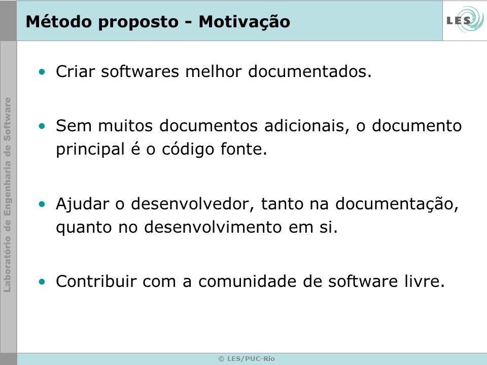 © LES/PUC-Rio Operacionalização da camada modelo Os cenários da camada de modelo devem ser implementados através de funções.