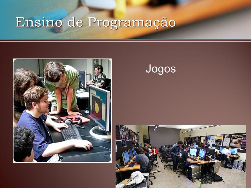 Ensino de Programação Jogos