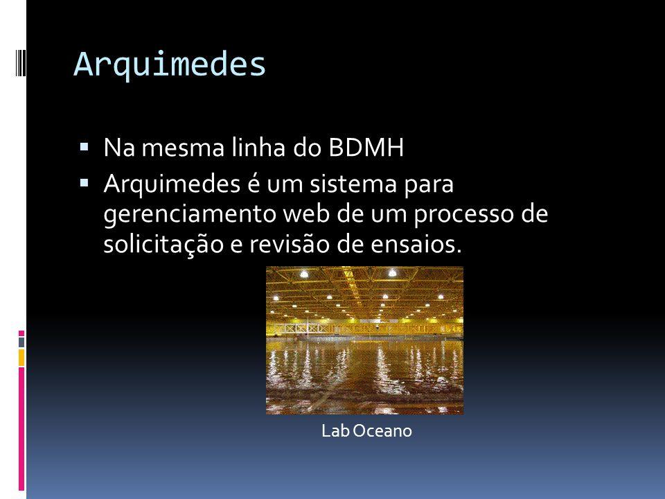 Arquimedes Aplicação Web Banco de Dados ASP.Net