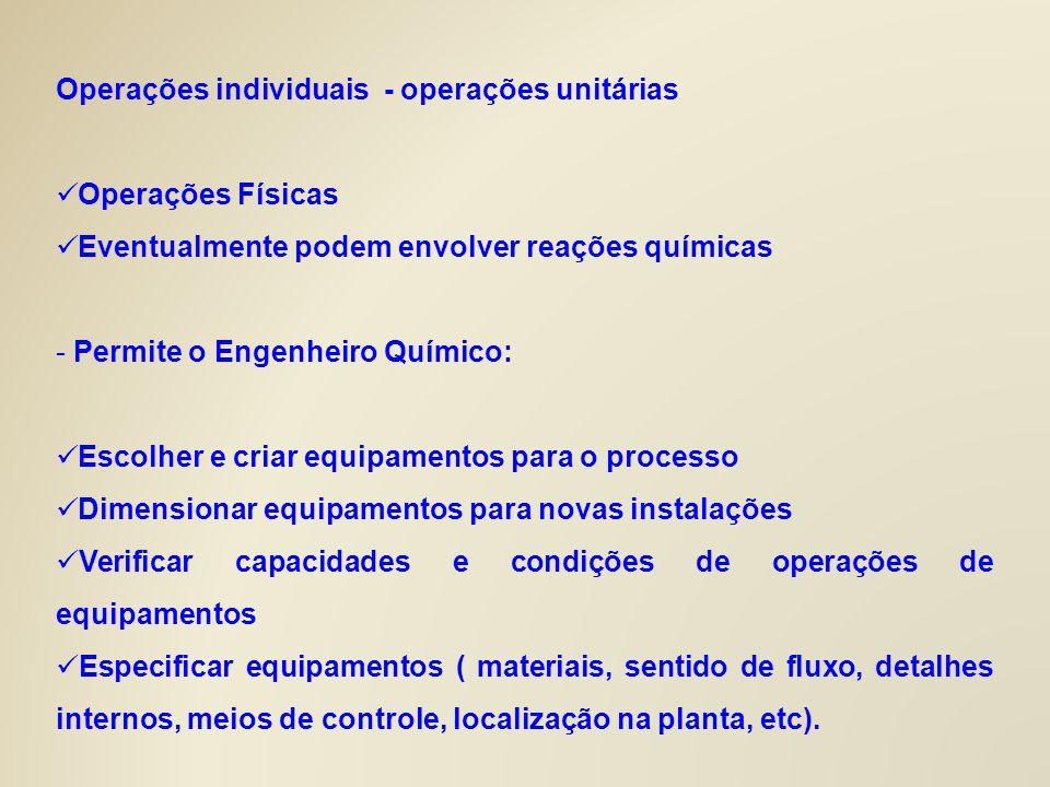 1OPERAÇÕES MECÂNICAS 1.1 – Operações envolvendo sólidos granulares Fragmentação de sólidos; Transporte de sólidos; Mistura de sólidos; 1.2 - Operações com sistemas contendo sólidos Sólidos de sólido; Peneiramento Separação hidráulica (arraste – elutriação) Sólido de líquidos; Decantação Flotação (borbulhamento de ar) Floculação (sulfato de aluminio – aglutinação – flocos)
