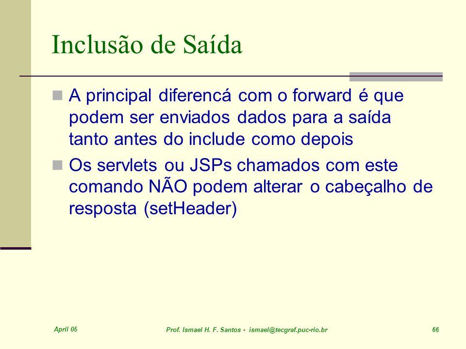 April 05 Prof. Ismael H. F.