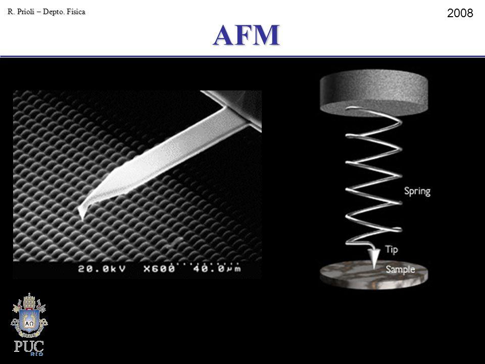 AFM R. Prioli – Depto. Física 2008 15