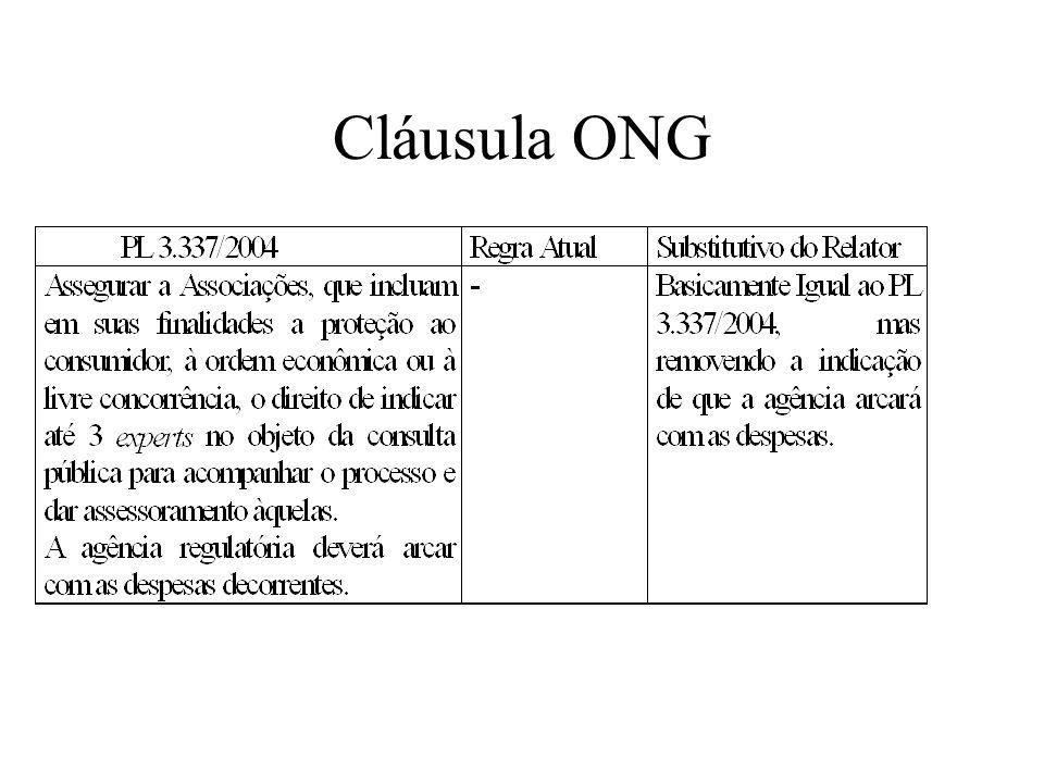 Cláusula ONG