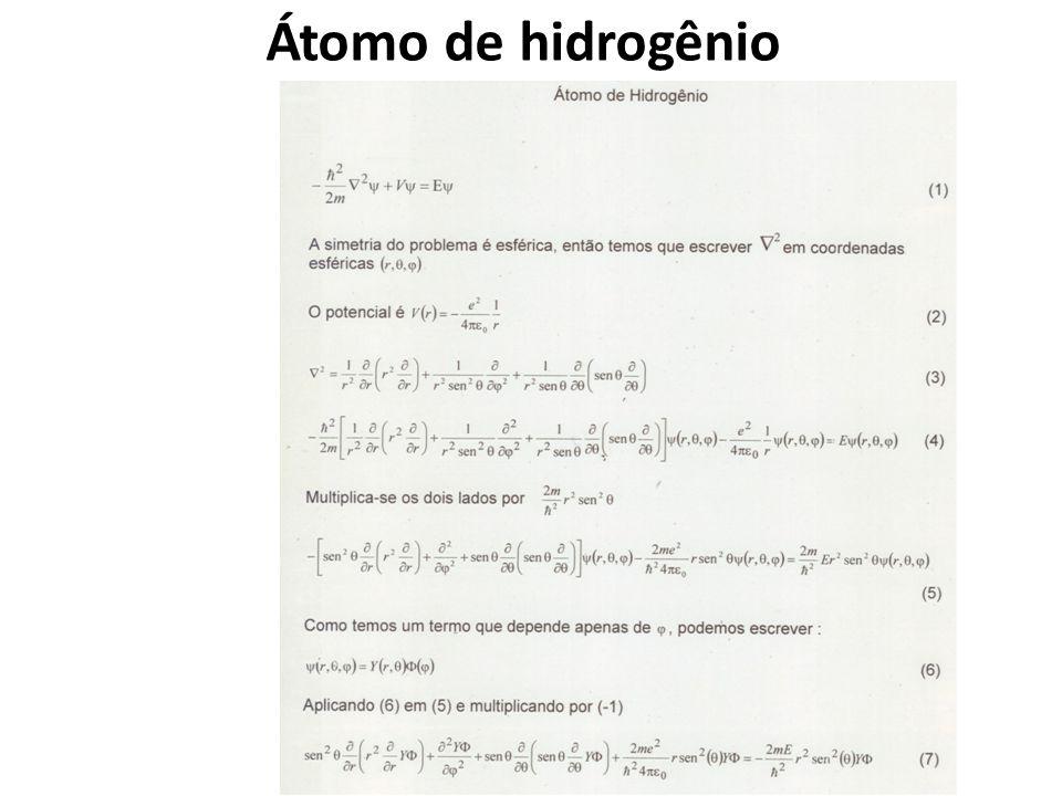 Átomo de hidrogênio
