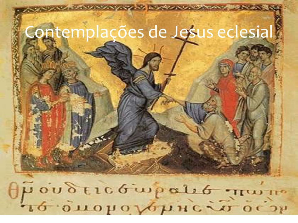 Contemplações de Jesus eclesial