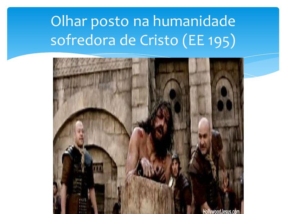 Olhar posto na humanidade sofredora de Cristo (EE 195)