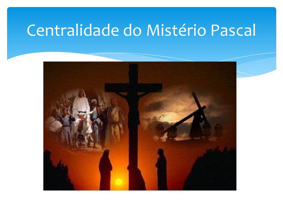 Centralidade do Mistério Pascal