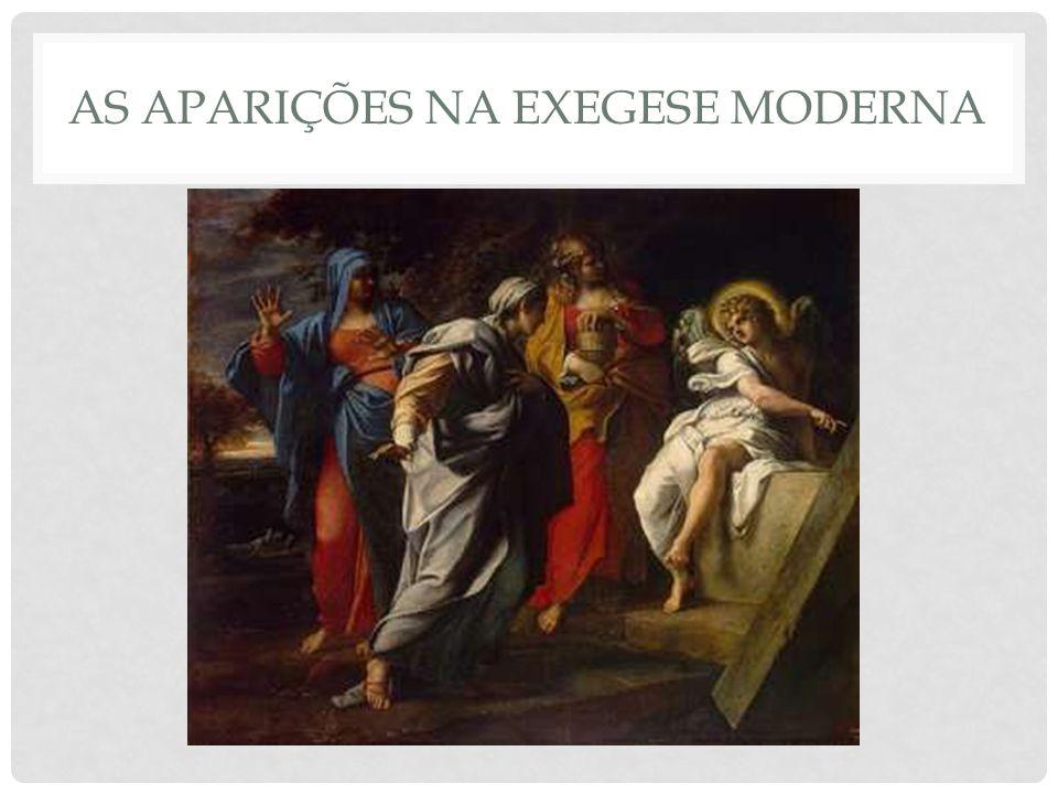 AS APARIÇÕES NA EXEGESE MODERNA