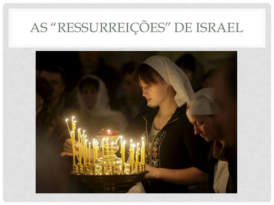 AS RESSURREIÇÕES DE ISRAEL