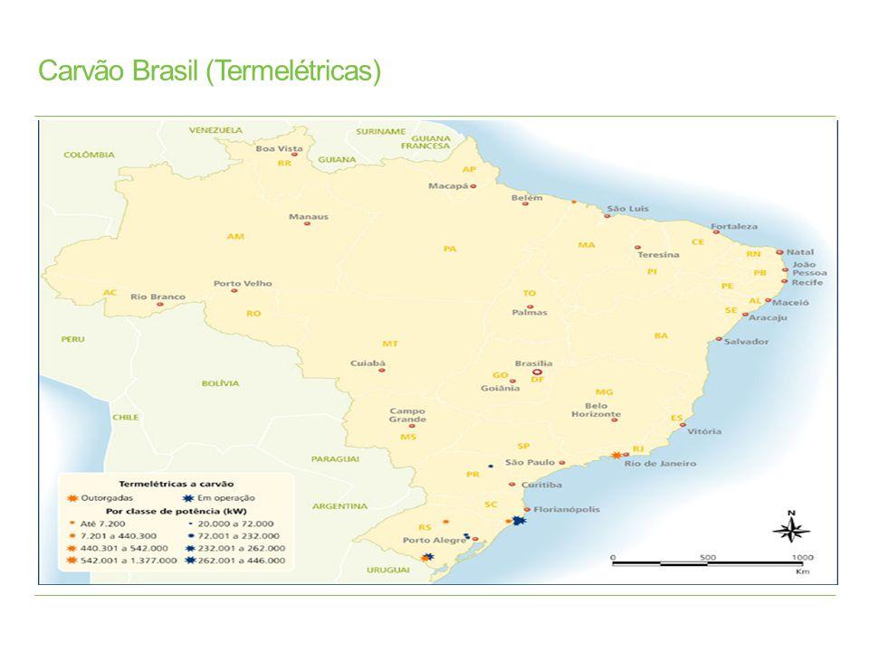 Carvão Brasil (Termelétricas)