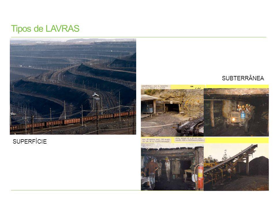 Carvão Atualmente, a principal aplicação do carvão mineral no mundo é a geração de energia elétrica por meio de usinas termelétricas.