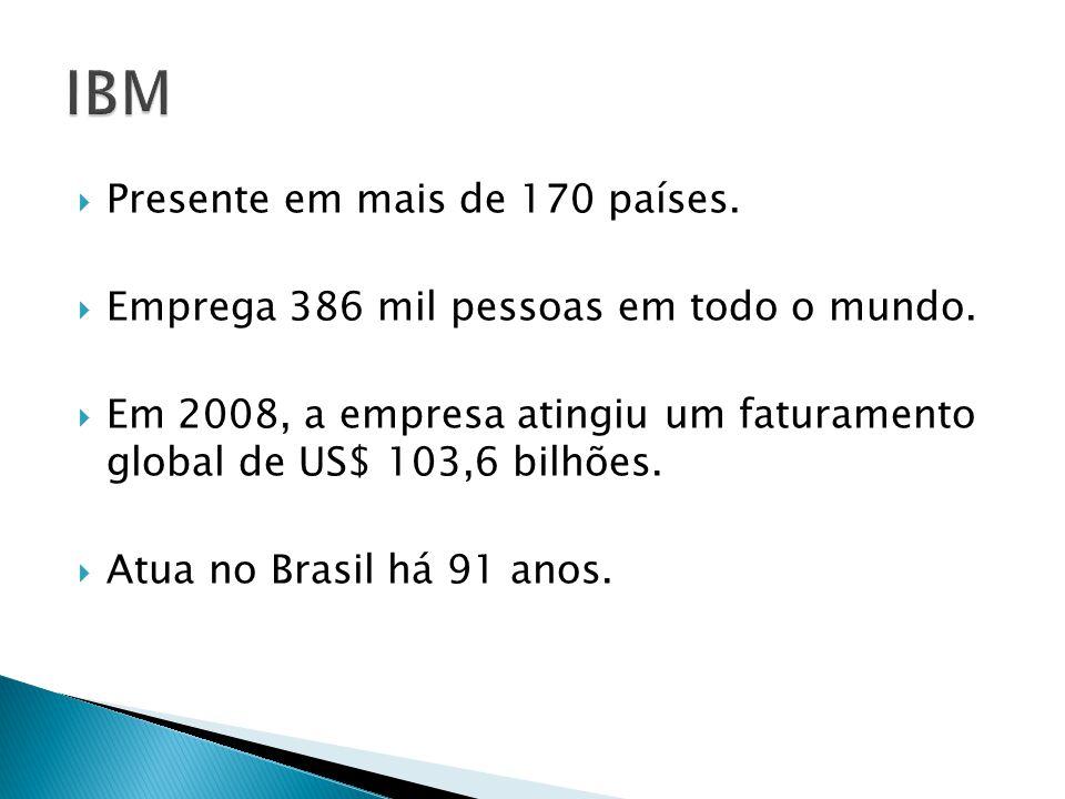 Presente em mais de 170 países. Emprega 386 mil pessoas em todo o mundo. Em 2008, a empresa atingiu um faturamento global de US$ 103,6 bilhões. Atua n