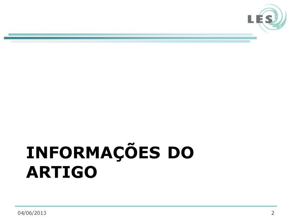 INFORMAÇÕES DO ARTIGO 204/06/2013