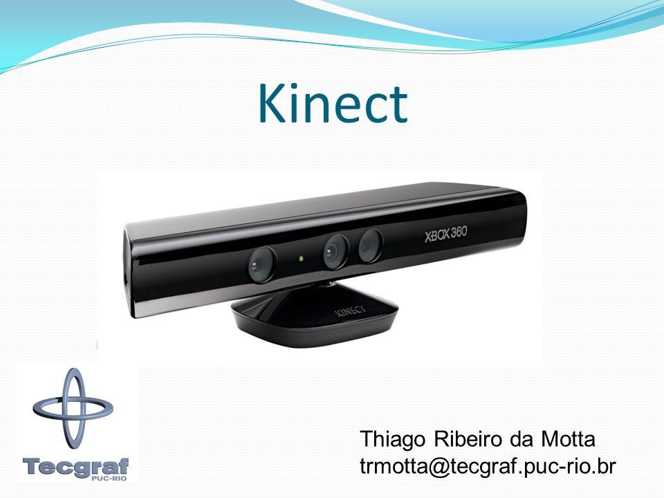 Kinect Thiago Ribeiro da Motta trmotta@tecgraf.puc-rio.br