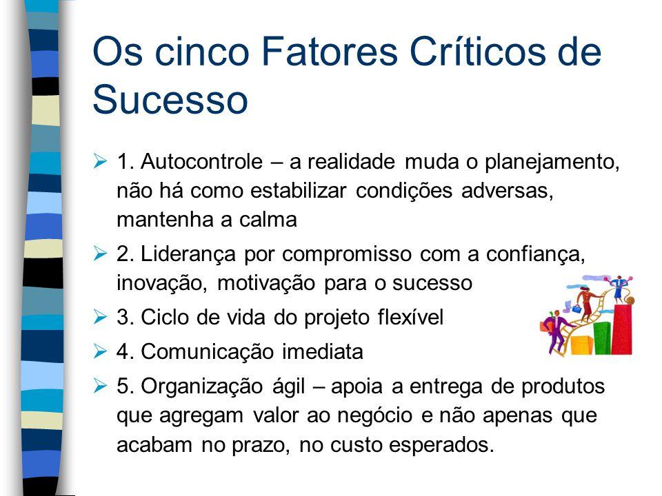 Os cinco Fatores Críticos de Sucesso 1.