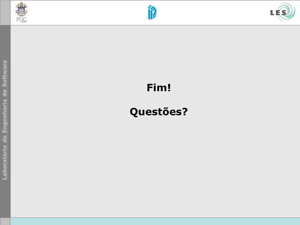 Fim! Questões