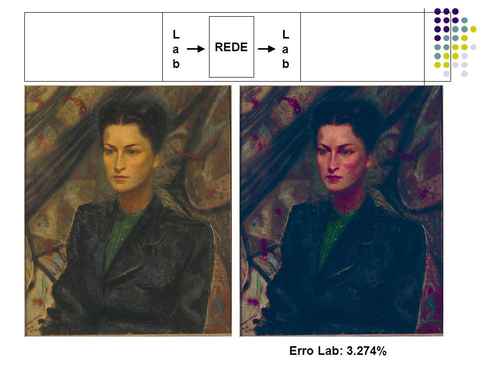REDE LabLab LabLab Erro Lab: 3.274%