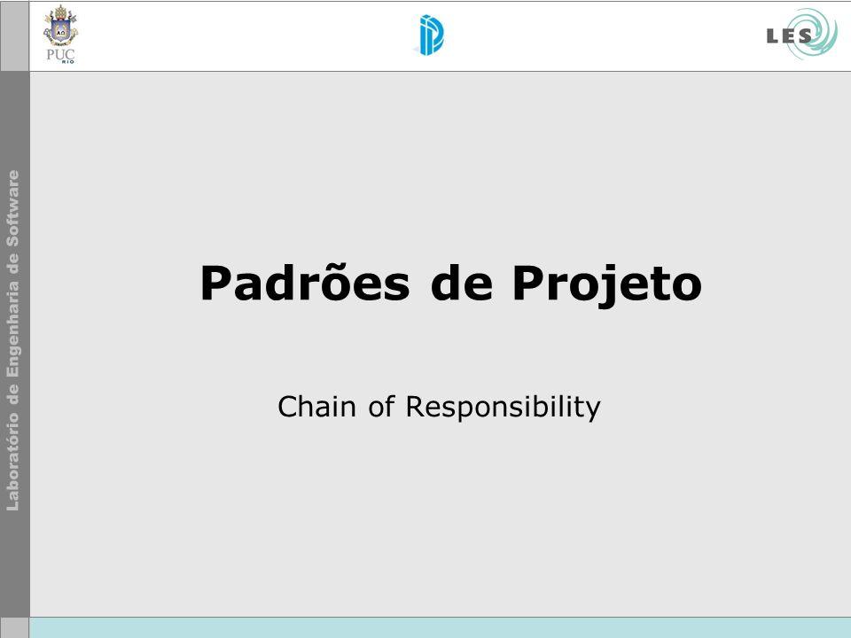 Padrões de Projeto Chain of Responsibility