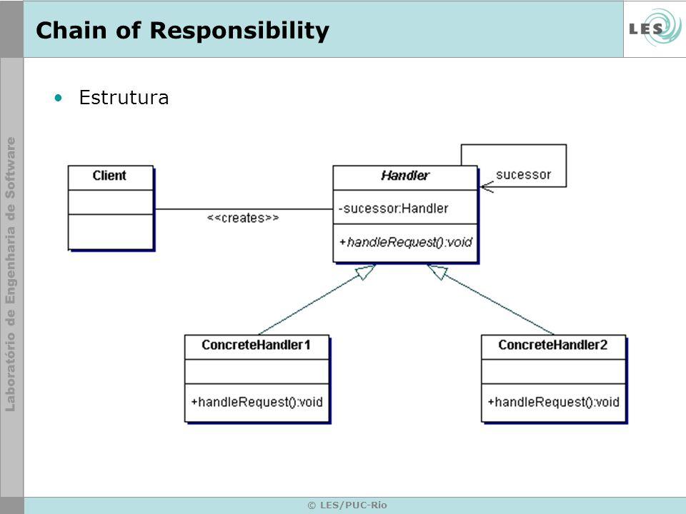 © LES/PUC-Rio Chain of Responsibility Estrutura