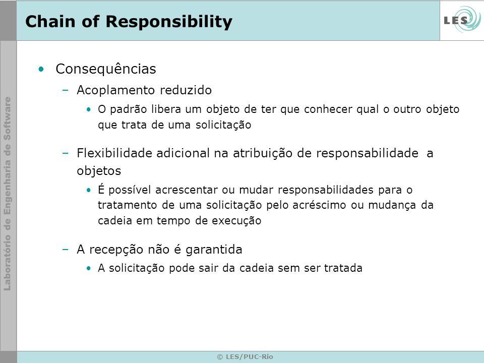 © LES/PUC-Rio Chain of Responsibility Exemplo de código