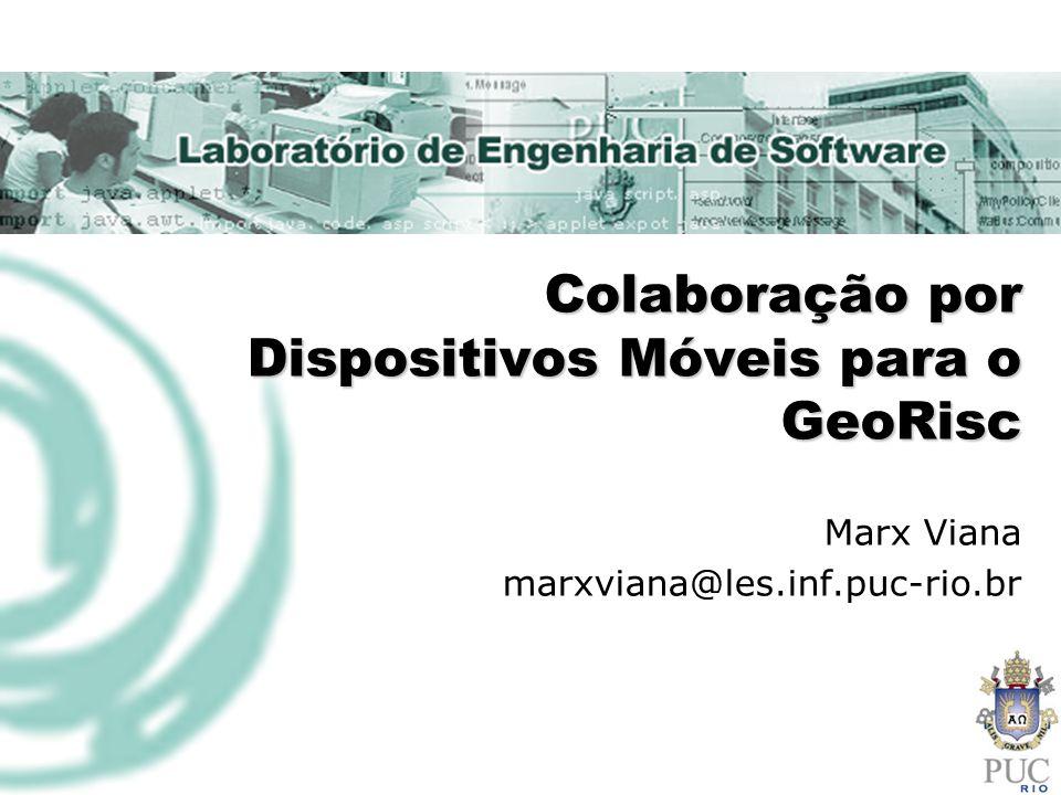 7/6/2014@LES/PUC-Rio2 Motivação GeoRisc - Plataforma de Análise de Riscos Geo-Ambientais Conhecimento profundo em: Escorregamento de solos Riscos geo-ambientais Serviços complexos baseados em agentes