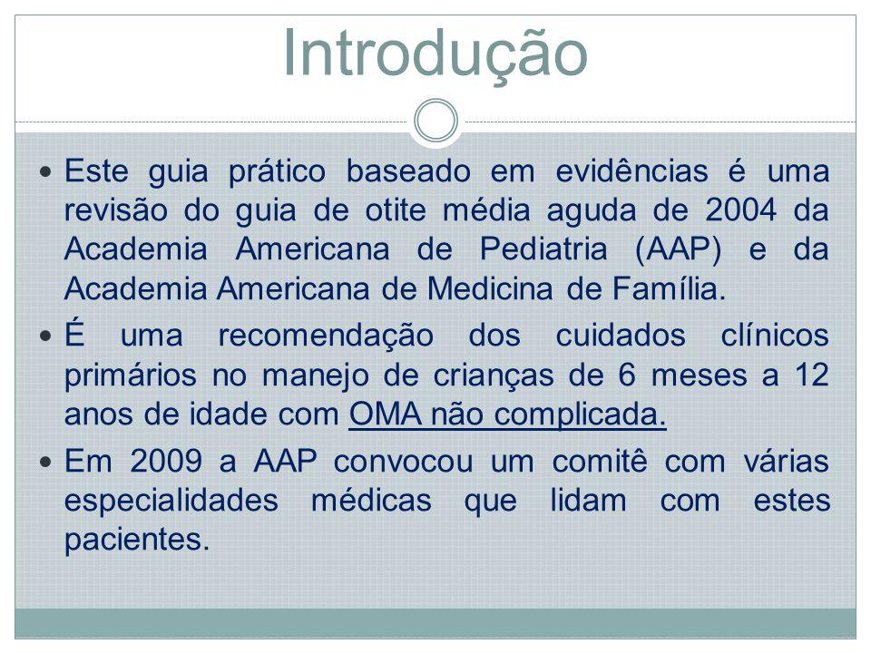 Métodos: Termos e condições adicionais não consideradas na revisão de 2001 (OM recorrente, novas drogas e vacina pneumocócica heptavalente) foram também incluídos.
