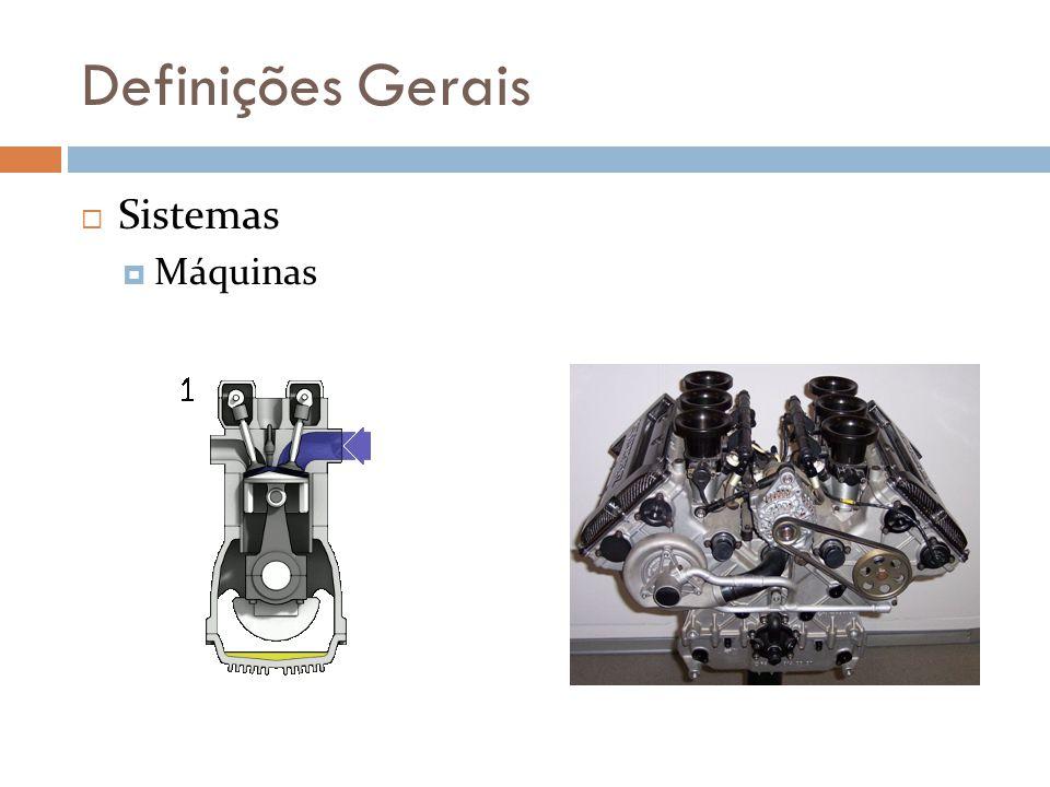 Definições Gerais Sistemas Máquinas