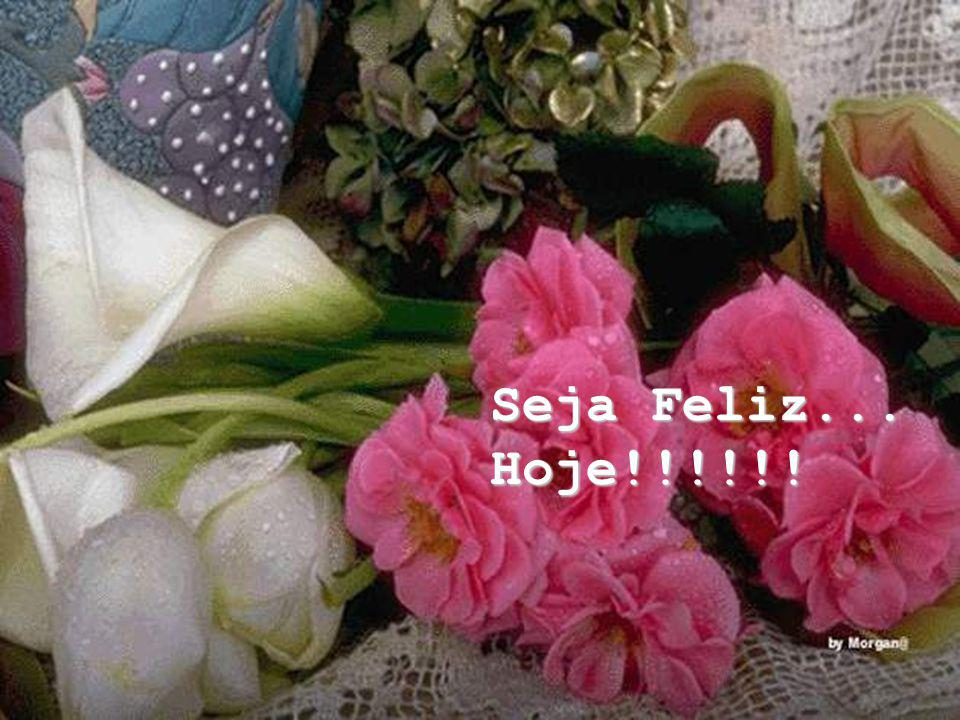 Seja Feliz... Hoje!!!!!!