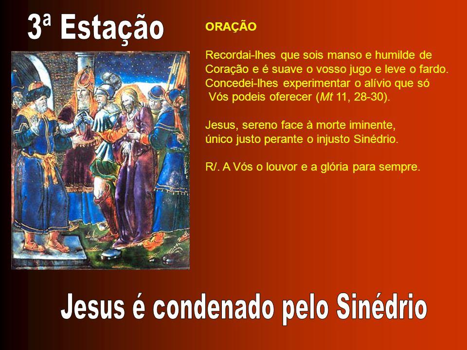 ORAÇÃO Jesus, ao exalar o último respiro, entregais a vida nas mãos do Pai e derramais sobre a Esposa o dom vivificante do Espírito.