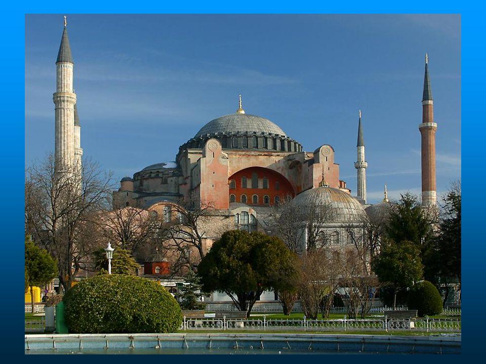 E mais próximo da histórica Mesquita de Santa Sofia...