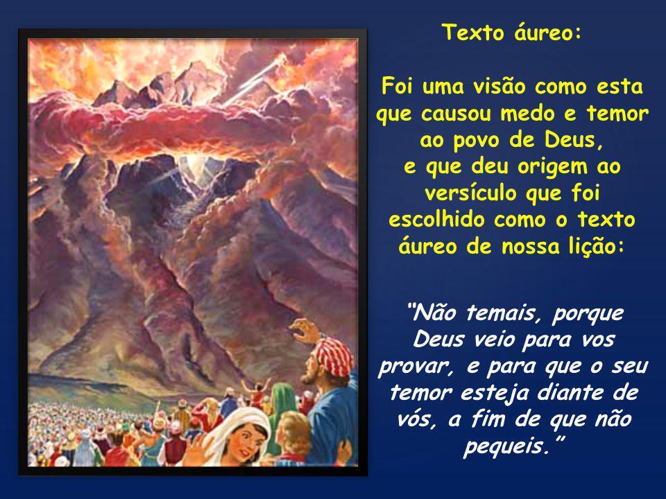{ Êxodo 39.33-43 33 Depois trouxeram a Moisés o tabernáculo, a tenda e todos os seus utensílios, os seus colchetes, as suas tábuas, os seus travessões, as suas colunas e as suas bases; 34 e a cobertura de peles de carneiros tintas de vermelho, e a cobertura de peles de golfinhos, e o véu do reposteiro; 35 a arca do testemunho com os seus varais, e o propiciatório; 36 a mesa com todos os seus utensílios, e os pães da proposição; 37 o candelabro puro com suas lâmpadas todas em ordem, com todos os seus utensílios, e o azeite para a luz; 38 também o altar de ouro, o óleo da unção e o incenso aromático, e o reposteiro para a porta da tenda; 39 o altar de bronze e o seu crivo de bronze, os seus varais, e todos os seus utensílios; a pia e a sua base; 40 as cortinas do átrio, as suas colunas e as suas bases, e o reposteiro para a porta do átrio, as suas cordas e as suas estacas, e todos os utensílios do serviço do tabernáculo, para a tenda da revelação; 41 as vestes finamente tecidas para uso no ministério no lugar santo, e as vestes sagradas para Arão, o sacerdote, e as vestes para seus filhos, para administrarem o sacerdócio.