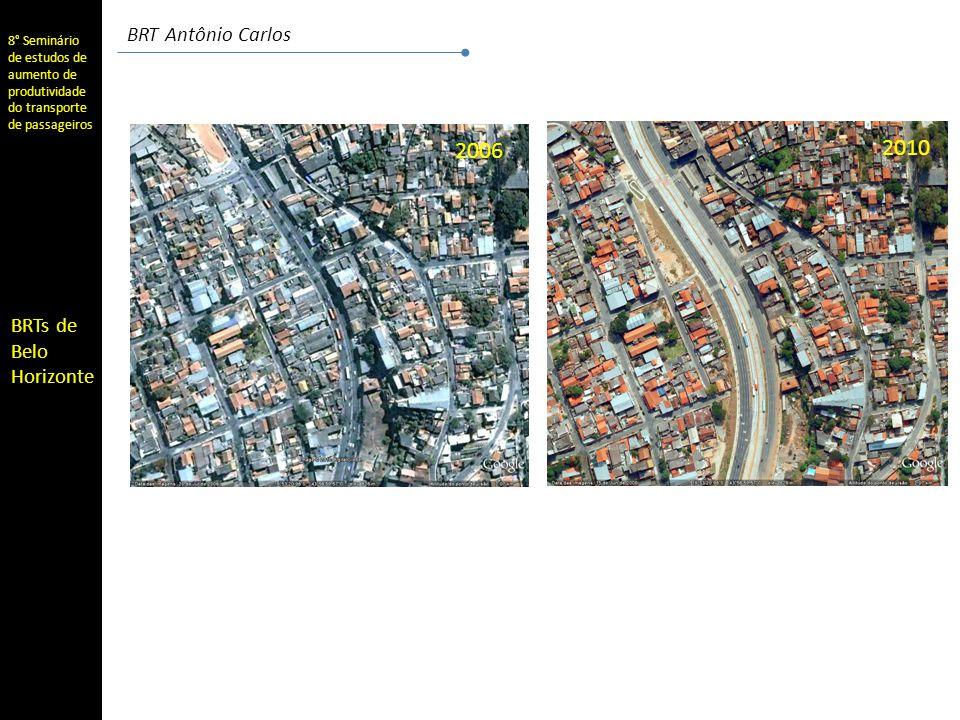 8° Seminário de estudos de aumento de produtividade do transporte de passageiros BRTs de Belo Horizonte BRT Antônio Carlos
