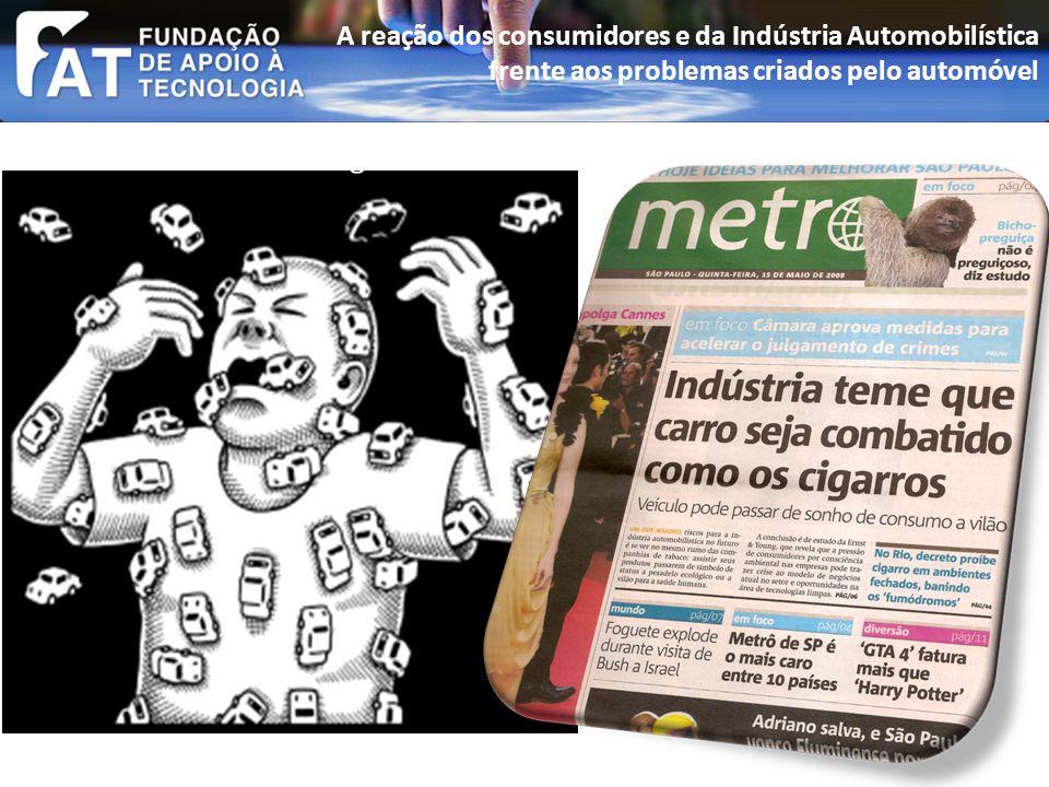 A rejeição ao automóvel no Brasil (passeata av.Paulista 2008).