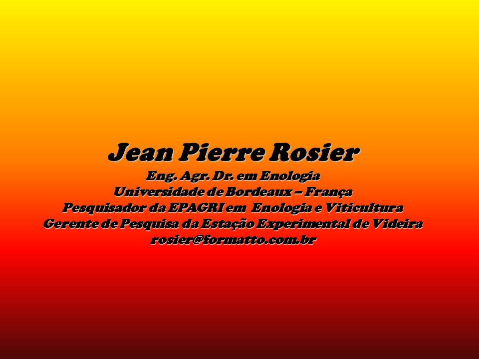 Jean Pierre Rosier Eng.Agr. Dr.